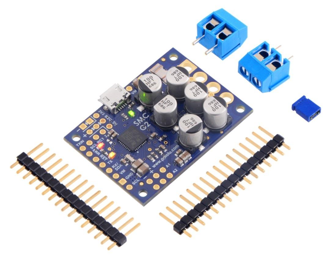 Pololu High-Power Simple Motor Controller G2 24v19