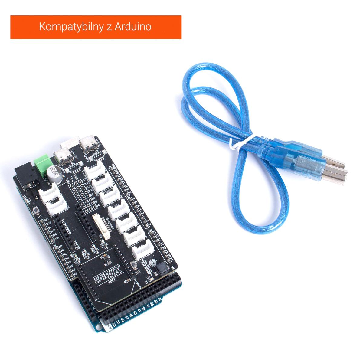 kompatybilny z Arduino