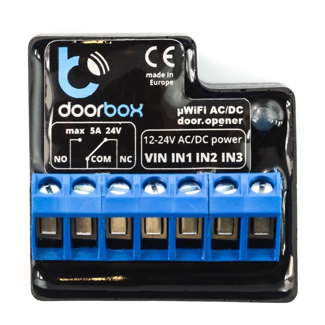 BleBox DoorBox - wyprowadzenia