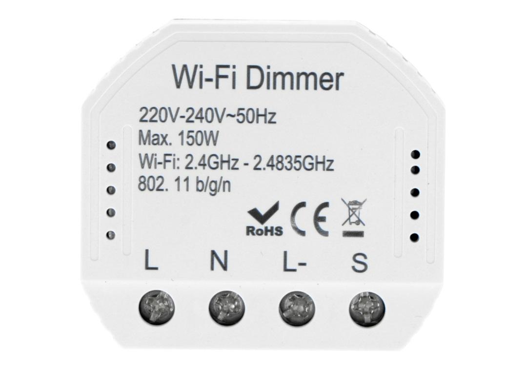 Sterownik oświetlenia Wifi