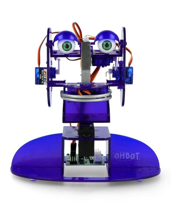 Robot Ohbot w wersji dla Windows