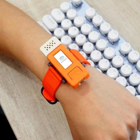 Gotowy projekt smartwatch z nakładką ENV II.