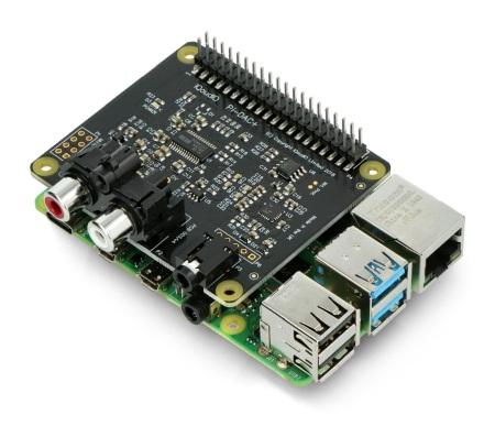 Karta dźwiękowa IQaudIO DAC+ z Raspberry Pi