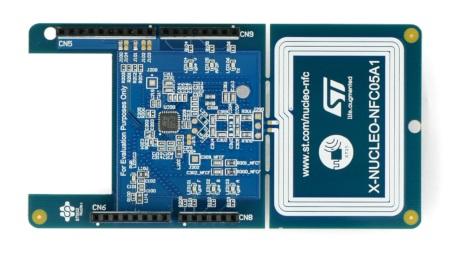 Oparta o mikrokontrolerST25R3911B.