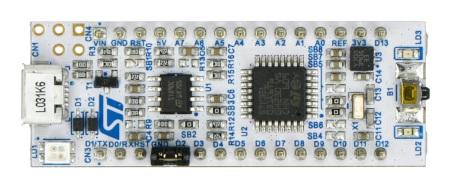 STM32 NUCLEO-32L031K6 -z MCU STM32L031K6.