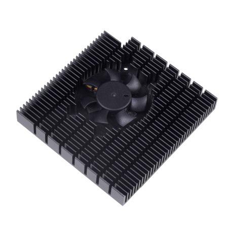 Wydajny radiator od Seeedstuio przeznaczony do minikomputera seriiOdyssey-X86J405.