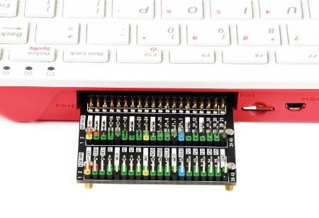Przedmiotem sprzedaży jest rozszerzenie GPIO 2 x 40 pin do Raspberry Pi 400.