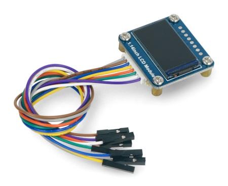 Wyświetlacz LCD IPS - 1,14'' 240 x 135 px SPI - 65K RGB.
