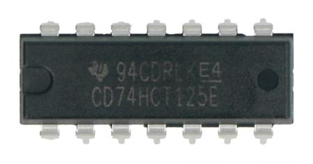 Układ CD74HCT125E