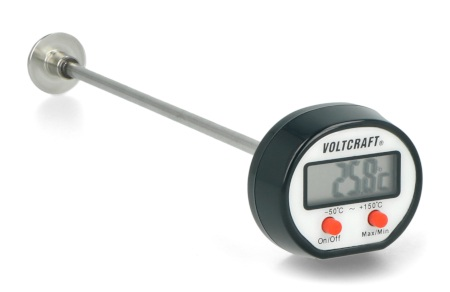 Termometr przemysłowy Voltcraft DOT-150