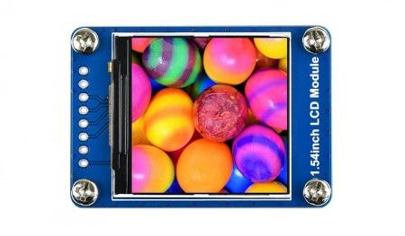 Wyświetlacz LCD IPS 65K RGB - 240 x 240 px 1,54'' SPI.