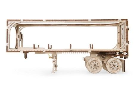 Naczepa jest znakomitym uzupełnieniem modelu z ciągnikiem VM-03.