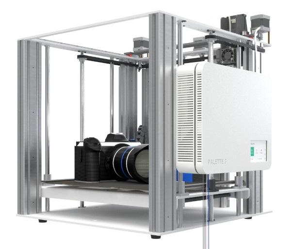 Prosty montaż Pallete 3 na niemal dowolnej drukarce 3D