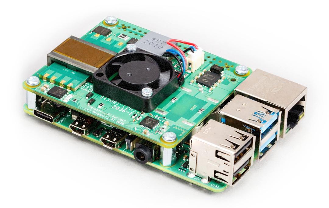 Nakładka PoE dla Raspberry Pi