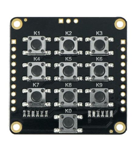 Fermion: ADKey Board -matryca 10 przycisków tact switch.