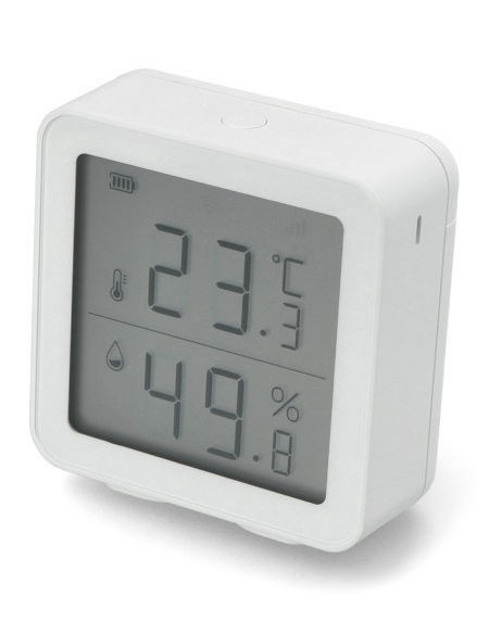 Czujnik temperatury i wilgotności z wyświetlaczem LCD Tuya WiFi - MIR-TE200-WF