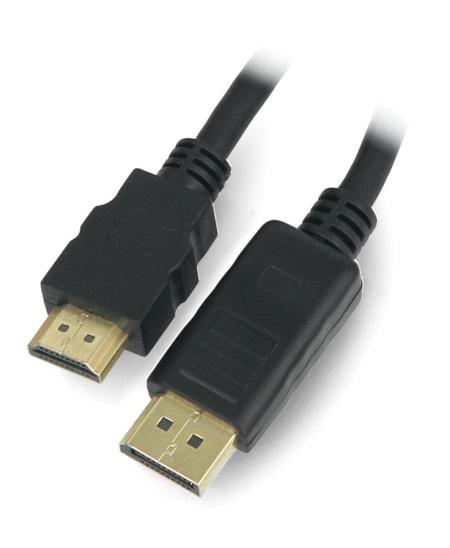 Przewód DisplayPort - HDMI męski ART - 1,8m