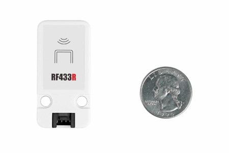 Odbiornik RF SYN513R - 433 MHz - moduł rozszerzeń Unit do modułów deweloperskich wyprodukowanych przez M5Stack.