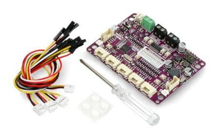 Elementy zestawu Maker Pi RP2040 od Cytron.