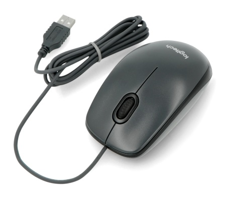 Mysz optyczna Logitech M100 - czarna
