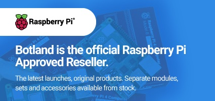 Botland i the official Raspberry Pi Approved Reseller