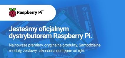 Jesteśmy oficjalnym dystrybutorem Raspberry Pi