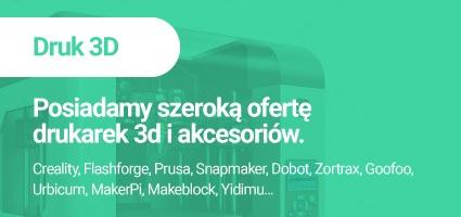 Posiadamy szeroką ofertę drukarek 3D i akcesoriów