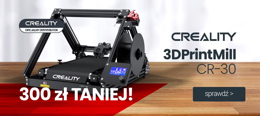 creality cr-30 printmill 300 zł taniej